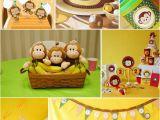 Monkey 1st Birthday Decorations Cool Birthday Party Ideas for Boys