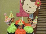 Monkey Birthday Decorations 1st Birthday Baby Farm Parties and Ideas Diah 39 S 1st Birthday Party