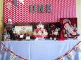 Monkey Birthday Decorations 1st Birthday Kara 39 S Party Ideas sock Monkey 1st Birthday Party Kara 39 S