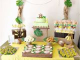 Monkey Birthday Decorations 1st Birthday Monkey 1st Birthday Party A to Zebra Celebrations