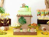 Monkey Birthday Decorations 1st Birthday Monkeys Bananas First Birthday Guest Feature