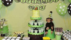 Monkey Decorations for Birthday Party Free Printable Little Monkey Birthday Invitation Template