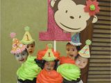 Monkey First Birthday Decorations Baby Farm Parties and Ideas Diah 39 S 1st Birthday Party