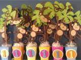 Monkey First Birthday Decorations Polka Dots and Parties Monkey 39 S 1st Birthday
