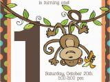 Monkey themed Birthday Invitations Best 20 Monkey First Birthday Ideas On Pinterest Monkey