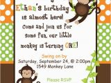 Monkey themed Birthday Invitations Best 25 Monkey Invitations Ideas On Pinterest Monkey