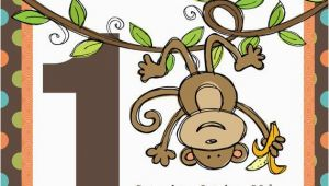 Monkey themed Birthday Party Invitations Best 20 Monkey First Birthday Ideas On Pinterest Monkey