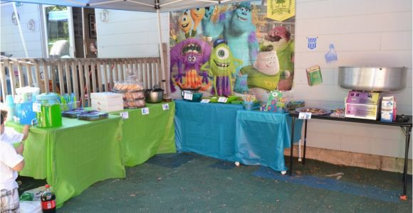 Monster Inc Birthday Decorations Monsters Inc Birthday Party Ideas