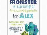 Monster Inc Birthday Invitations Monsters Inc Invitations Www Imgkid Com the Image Kid