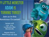 Monster Inc Birthday Invitations Unavailable Listing On Etsy