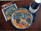 Monster Jam Birthday Decorations Chic On A Shoestring Decorating Monster Jam Birthday Party