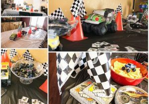 Monster Jam Birthday Decorations Monster Jam Gravedigger Birthday