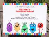 Monster themed Birthday Invitations How to Edit My Monster Party Invitations Template