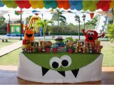 Monster themed Birthday Party Decorations Kara 39 S Party Ideas Monster Birthday Party Supplies Ideas