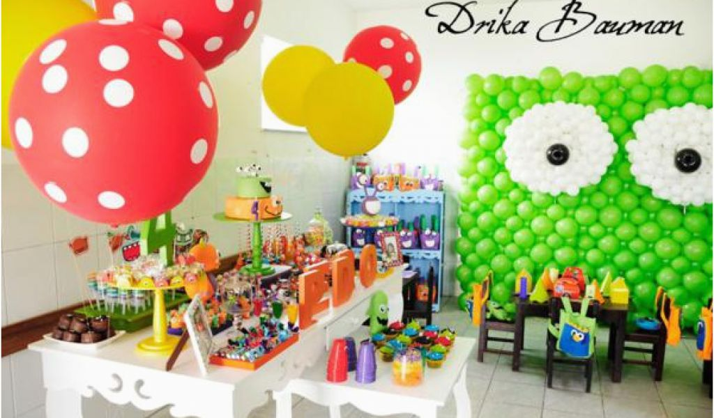 Download By SizeHandphone Tablet Desktop Original Size Back To Monster Themed Birthday Party Decorations