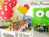 Monster themed Birthday Party Decorations Kara 39 S Party Ideas Monster Boy Girl 4th Birthday Party