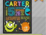 Monster themed Birthday Party Invitations Little Monster Birthday Invitation Monster by Wolcottdesigns
