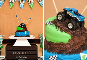 Monster Truck Birthday Decorations Amanda 39 S Parties to Go Monster Truck Party