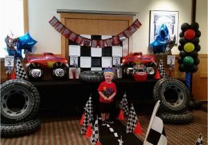 Monster Truck Birthday Decorations Monster Trucks Birthday Quot Austin 39 S Monster Truck Party