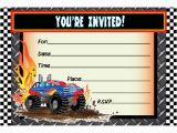 Monster Truck Birthday Invitations Free Printable Monster Truck Birthday Invitations Ideas Bagvania Free