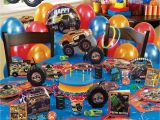 Monster Truck Birthday Party Decorations Monster Truck Birthday Party Supplies Bestnewtrucks Net