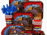 Monster Truck Birthday Party Decorations Monster Truck Party Supply Standard Kit Serves 8 Guests
