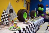 Monster Truck Decorations for Birthday Party Nestling Monster Truck Party Reveal