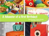 Monsters Inc 1st Birthday Decorations A Monster Of A First Birthday Party Project Nursery