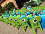 Monsters Inc 1st Birthday Decorations Monster 39 S Inc Birthday Party Ideas Photo 1 Of 16 Catch