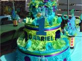 Monsters Inc 1st Birthday Decorations Monster 39 S Inc Birthday Party Ideas Photo 7 Of 16 Catch