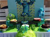 Monsters Inc 1st Birthday Decorations Monster 39 S Inc Birthday Quot Gabriel 39 S First Birthday