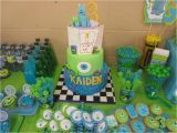 Monsters Inc 1st Birthday Decorations Monsters Inc and Monsters University Birthday Party Ideas