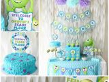 Monsters Inc 1st Birthday Decorations Monsters Inc Birthday Party Love Of Family Home