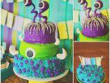Monsters Inc Birthday Party Decorations Kara 39 S Party Ideas Monsters Inc themed Birthday Party Via