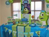 Monsters Inc Birthday Party Decorations Monsters Inc Birthday Quot tommy S Monster Higth University