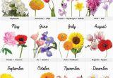 Monthly Birthday Flowers Best 25 Birth Flower Tattoos Ideas On Pinterest