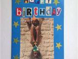 Monty Python Birthday Card Upcycled Handmade Birthday Card Monty Python Ooak by