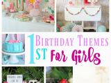 Motif for 1st Birthday Girl 20 1st Birthday themes for Girls Stylish Cravings