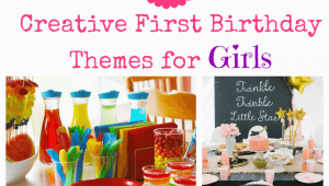 Motif for 1st Birthday Girl 34 Creative Girl First Birthday Party themes and Ideas