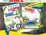 Motocross Birthday Party Invitations Dirt Bike Birthday Invitation Diy Dirt Bike Party Invitation