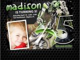 Motocross Birthday Party Invitations Motocross Birthday Invitation by Monsterinvitations Etsy