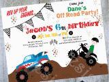 Motocross Birthday Party Invitations Motocross Birthday Party Invitation Printable by Luvbugdesign