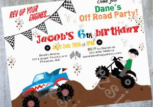 Motocross Birthday Party Invitations Invitation Printable By Luvbugdesign