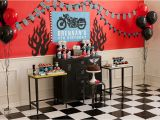 Motorcycle Birthday Decorations Motorcycle Birthday Party A Boy 39 S Birthday Biker Rally