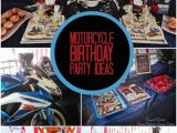 Motorcycle Birthday Decorations Motorcycle themed Boy 39 S Birthday Party Spaceships and