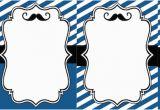 Moustache Birthday Invitations Mustache Party Baby Shower or Birthday Invite Paper