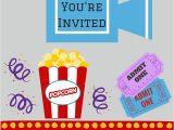 Movie Night Birthday Invitations Free Printable Free Printables Printable Movie Night Invite