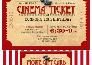 Movie Night Birthday Invitations Free Printable Like Mom and Apple Pie A Summer Of Movies Free Printables