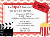 Movie Night Birthday Invitations Free Printable Movie Invitation Printable Google Search Drive In