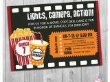 Movie theater Birthday Invitations Movie Party Invitation Printable Boys or Girls Movie